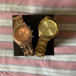 Michael Kors Rose gold & Gold Watches